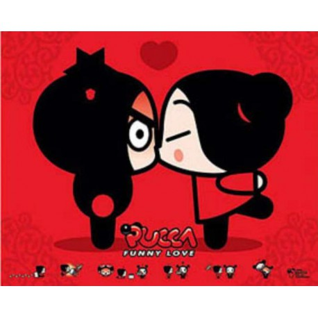 Mini Poster Pucca First Meeting