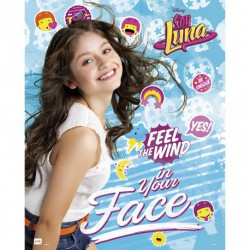 Mini Poster Soy Luna Feel The Wind