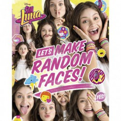 Mini Poster Soy Luna Random Faces Group