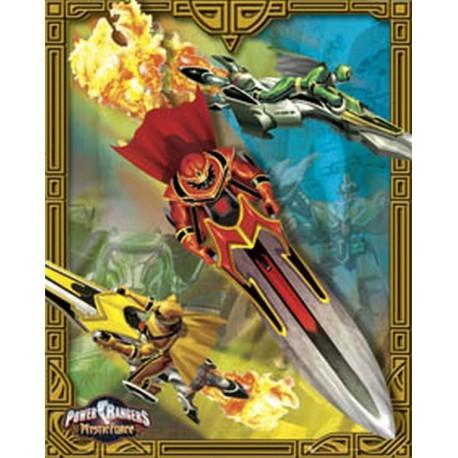 Mini Poster Power Rangers