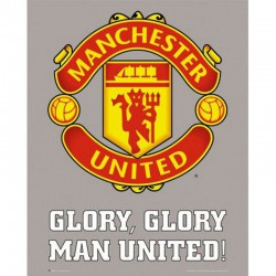 Mini Poster Manchester United Club Crest