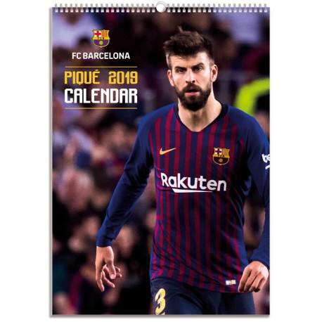 Calendario Bimensual Fc Barcelona 2019 Pique