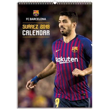 Calendario Bimensual Fc Barcelona 2019 Luis Suarez
