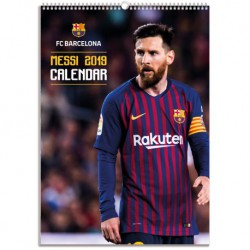 Calendario Bimensual Fc Barcelona 2019 Messi
