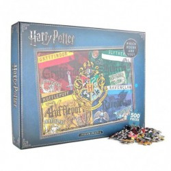 Puzzle 500 Piezas Harry Potter Houses