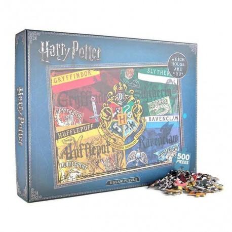 Puzzle 500 Piezas Harry Potter Houses