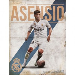 Print 30X40 Cm Real Madrid Asensio