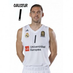 Postal Real Madrid Baloncesto 2018/2019 Causeur
