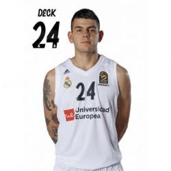 Postal Real Madrid Baloncesto 2018/2019 Deck