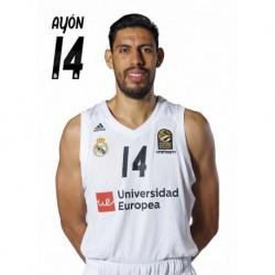 Postal Real Madrid Baloncesto 2018/2019 Ayon