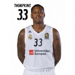 Postal Real Madrid Baloncesto 2018/2019 Thompkins