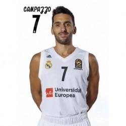 Postal Real Madrid Baloncesto 2018/2019 Campazzo