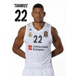 Postal Real Madrid Baloncesto 2018/2019 Tavares