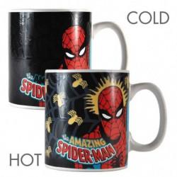 Taza Termocolora Marvel Spiderman