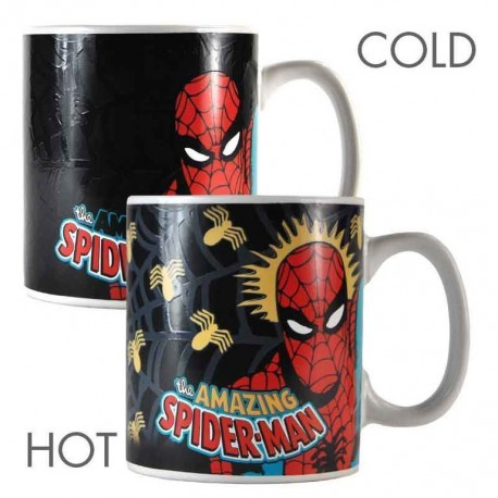 Taza Termocolora Marvel Spiderman