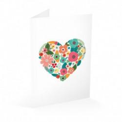 Tarjeta Felicitacion Heart Loreak