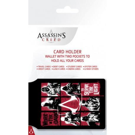 Tarjetero Card Holder Assassins Creed Grid