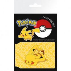 Tarjetero Pokemon Pikachu
