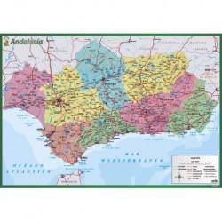 Vade de Escritorio Escolar Mapa De Andalucía