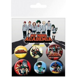 Pack Chapas My Hero Academia Mix