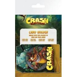 Tarjetero Card Holder Crash Bandicoot Logo