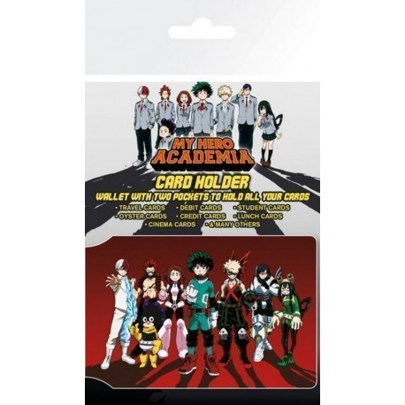 Tarjetero Card Holder My Hero Academia Heroes