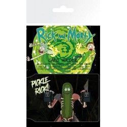 Tarjetero Rick & Morty Pickle Rick