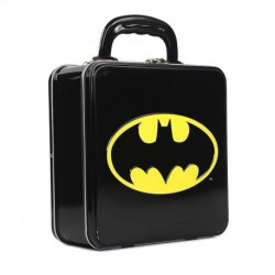 Caja Metalica Relieve Dc Comics Batman Logo