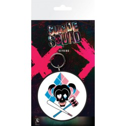 Llavero Suicide Squad Harley Skull