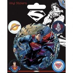 Pegatina Vinilo Dc Comics Superman