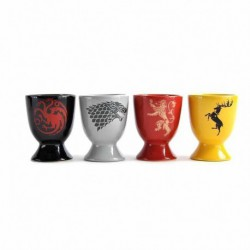 Set 4 Hueveras Game Of Thrones All Sigils