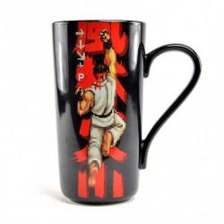 Taza Latte Street Fighter Ryu