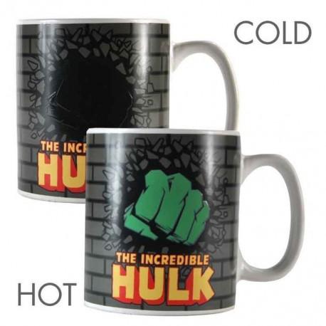 Taza Termocolora Marvel Hulk