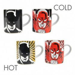 Taza Termocolora Set De 2 Dc Comics Batman And Flash
