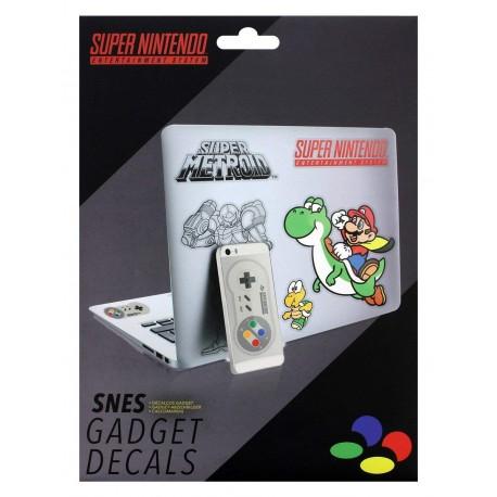 Pegatinas Gadget Nintendo Snes