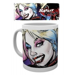 Taza Dc Comics Harley Quinn Wink