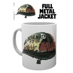 Taza Full Metal Jacket Helmet Born To Kill