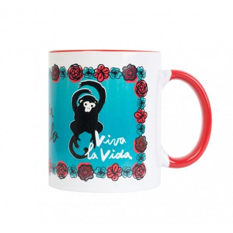 Taza Frida Kahlo Viva La Vida