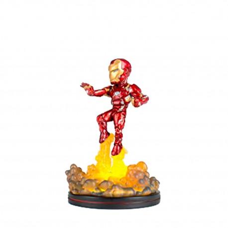 Figura Qfig Con Luz Marvel Iron Man