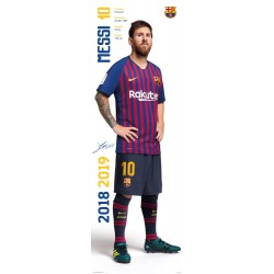 Poster Puerta Fc Barcelona 2018/2019 Messi