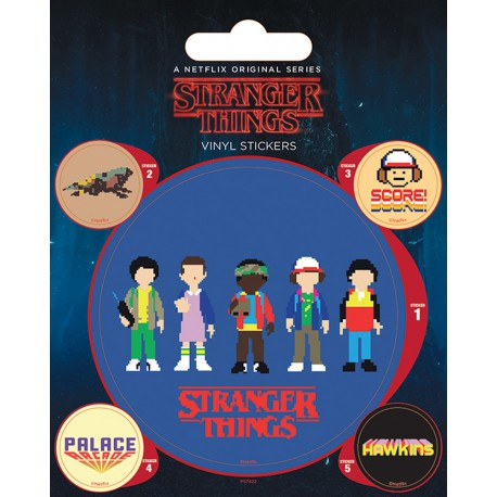 Sticker Vinilo Stranger Things Arcade