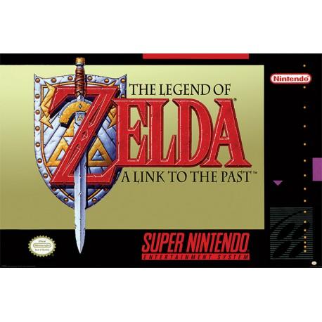Poster Super Nintendo Zelda