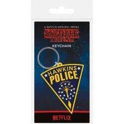 Llavero Stranger Things Hawkins Police