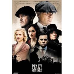 Poster Peaky Blinders Personajes