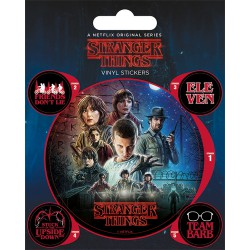 Sticker Vinilo Stranger Things One Sheet