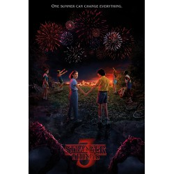 Poster Stranger Things One Summer