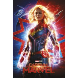 Poster Marvel Capitana Marvel One Sheet