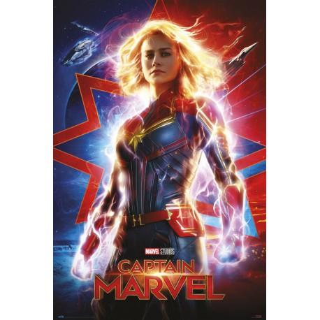 Poster Marvel Capitana Marvel One Sheet
