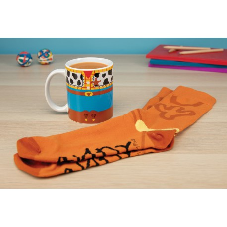 Set Taza Y Calcetines Toy Story Woody