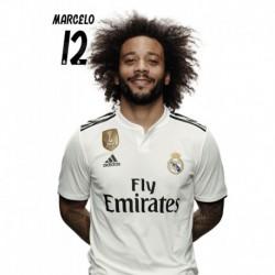 Postal Real Madrid 2018/2019 Marcelo BustoMundialito